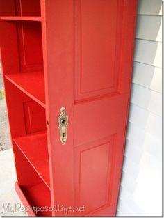 Great repurposed door.