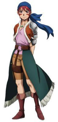 Anime -  Arslan Senki - Fille de chef brigan