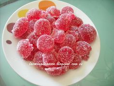 Caramelos de goma Raspberry, Peach, Cooking Recipes, Candy, Fruit, Html, Food, Jelly Beans, Gummi Candies