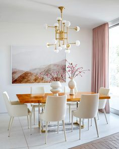 Sarah Sherman Samuel: Moore's Mid-Century Home Design, Home Interior Design, Interior Decorating, Room Interior, Apartments Decorating, Modern Interior, Decoration Inspiration, Dining Room Inspiration, Decor Ideas