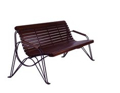 AMBIENTE - wooden bench for urban landscape