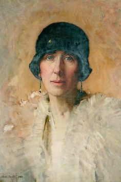 Walter Dexter - 1925 Helen Dexter, the Artist's Wife