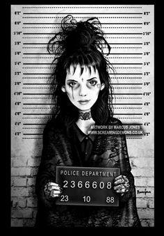 Lydia Mugshot. by MarcusJoneson DeviantArt (Marcus Jones,United Kingdom)