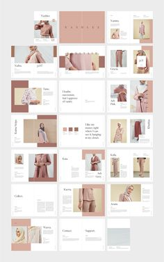 NASHLEE Fashion Collection Catalog by flowless on @creativemarket