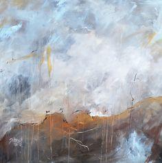 Abstract  Artwork Acrylic on Canvas 100 cm x 100 cm 2015