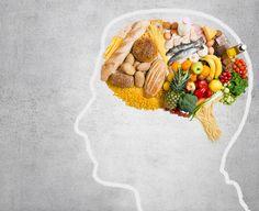 Estudos indicam que pessoas com alimentação saudável tem menor risco de desenvolver qualquer doença relacionada à memorização, ordenação de pensamento, fixação de ideias e etc.