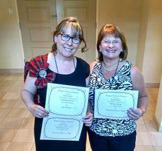 With my delightful new friend and fellow RITA finalist, Patience Griffin, at the party where we got our certificates. Patience was a DOUBLE finalist!!! Woot!!! (RWA 2015, NYC)