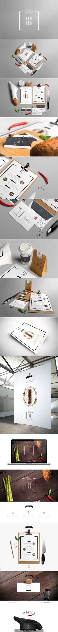 It's just Frú Frú #identity #packaging #branding designed by Johanna Roussel PD