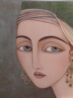 Artist Faiza Maghni (Algeria)