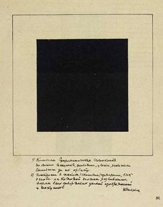 Black Square (1915) by Kazimir Malevitch