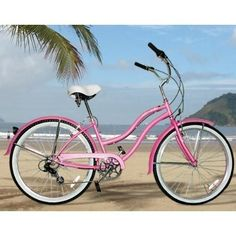 Beach Cruisers were THE bike to have growing up in Va Beach.  I loved mine...but it wasn't as cute as this one!