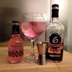 6 Moments gin, Original berries tonic