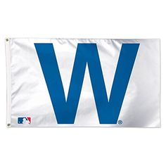 Cheer on your favorite team with this Chicago Cubs x Deluxe flag from WinCraft! Let everyone know that you cheer for the Chicago Cubs! It features vibrant Chicago Cubs graphics and colors so you can show off your team pride! Chicago Cubs W Flag, Chicago Chicago, National Games, Cubs Win, Go Cubs Go, Wrigley Field, Outdoor Flags, Indoor Outdoor