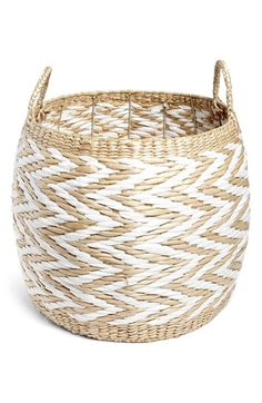 Levtex+Large+Drum+Basket+available+at+#Nordstrom