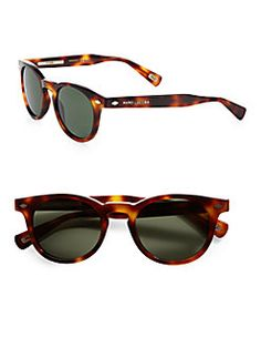 Marc Jacobs - Preppy Round Plastic Sunglasses
