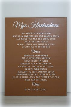 Canvas: Mijn Kleinkinderen Emoticon, Cool Words, Favorite Quotes, Projects To Try, Geluk, Memories, Blog, Life, Awesome Words
