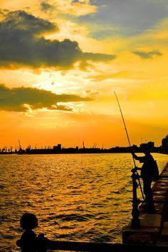 Thessaloniki Seafront, Greece Macedonia Greece, Greek Blue, Greek Isles, Southern Europe, Beautiful Places, Amazing Places, What A Wonderful World, Greece Travel, Athens
