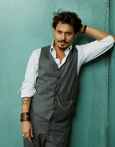 Johnny Depp, I could still look at him all day. Gets better with age.