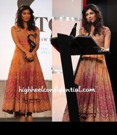 Chitrangada Singh in a beautiful Anarkali Suit by Tarun Tahiliani