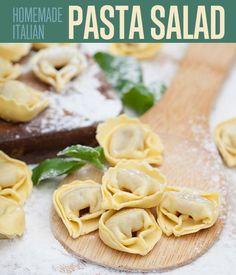 Homemade Italian Pasta Salad Recipe
