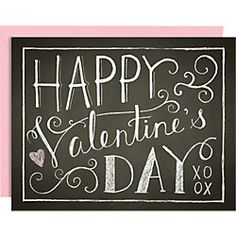 Valentine's Chalkboard Art