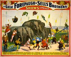 circus vintage poster | Izzwizz Creations: Art Nouveau Pop-up and some hints on finding Free ...
