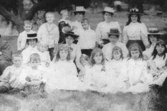 Bendigo, Victoria, Australia in the early 1900s.