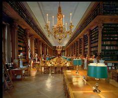 The Bibliothèque Mazarine, Paris
