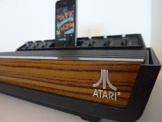 Atari 2600 iPhone Speaker Dock on http://www.drlima.net