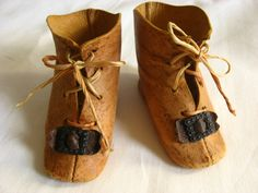 antique doll shoes These too!