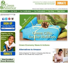 Green America: Economic Action for a Just Planet >> I Want to Support Green America! - Shop Green!