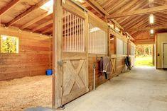 Horseback Riding Ranch, Horse Stables, Barns and Facilities