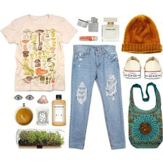 Milk it by louisesuxx on Polyvore featuring mode, Converse, Sydney Evan, Madewell, Narciso Rodriguez, Fountain and Diptyque