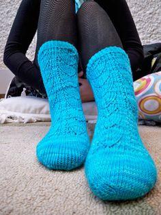 knit sock pattern
