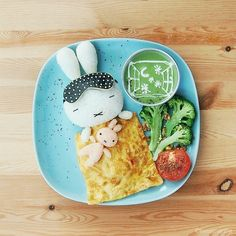 edible food art for kids Bento Recipes, Baby Food Recipes, Cute Food, Good Food, Awesome Food, Creative Food Art, Food Art For Kids, Cool Lunch Boxes, Food Artists