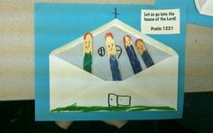 We go to Church craft - Bible Story - Jesus visits the temple