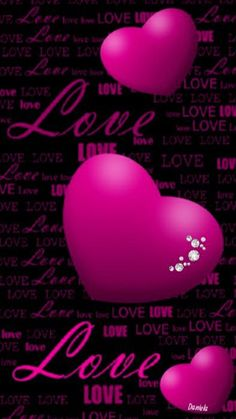 Love Wallpaper, Wallpaper Backgrounds, Wallpapers, Boss Up Quotes, I Love You Means, Heart Poster, My Love, Flowers, Pink