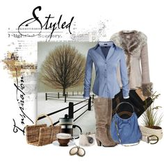 """""""Home Styled"""" by deborah-simmons on Polyvore"""