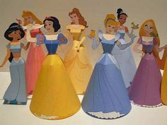 Disney princess downloadable paper crafts