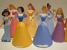 Disney princess downloadable paper crafts