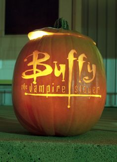 Buffy pumpkin!