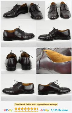 Cole Haan Caldwell Burgundy Oxfords Dress Shoes Mens Size 10 D Medium 08331  http:/