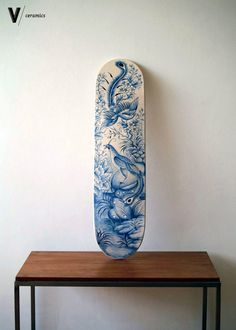 Vallison – Ceramic skateboard