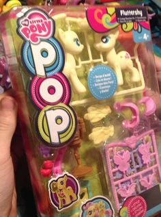 Распаковка POP пони Флатершай. Unpacking POP ponies Fluttershy