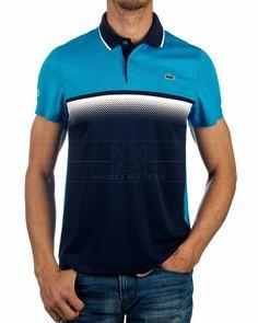 Polo LACOSTE ® Sport Azul Bicolor Tenis | ENVIO GRATIS Polos Lacoste, Lacoste Sport, Camisa Polo, Mens Polo T Shirts, Polo Shirt, Sport Wear, Sport T Shirt, Next Sportswear, Sports Jersey Design