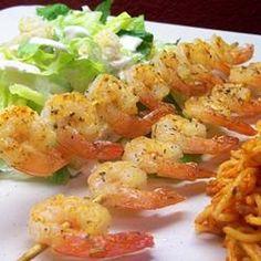 Spicy Lime Grilled Shrimp Allrecipes.com