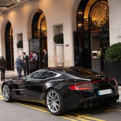 "ASTON MARTIN ""ONE 77""  Lust is a crass word, but I do lust after this beauty."