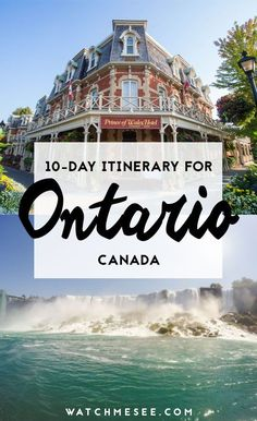 Here are all the top things to do with 10 days in Ontario, Canada! Montreal, Vancouver, Ontario Travel, Canoe Camping, Roadtrip, Canada Travel, Canada Trip, Travel Alone, Day Trips