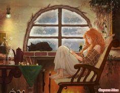 Осень... дождь... плед... книга... - Страна Мам