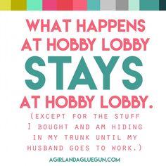 hobby lobby craft meme